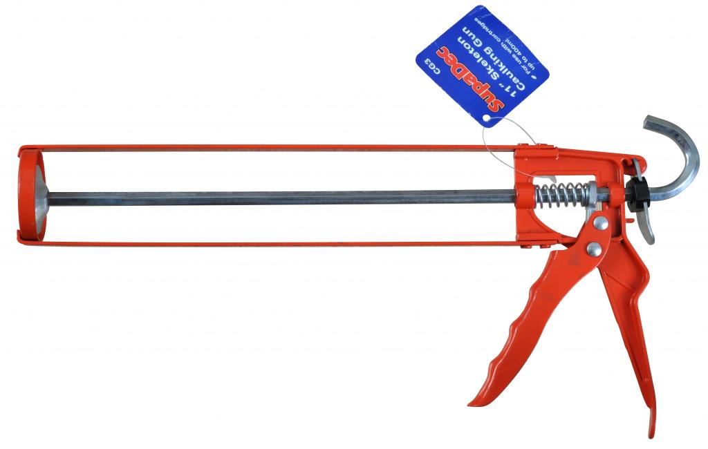 """SupaDec Skeleton Caulking Gun - 11"""""""