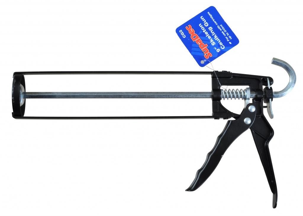 """SupaDec Skeleton Caulking Gun - 9"""""""