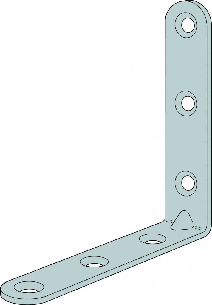 Simpson Strong Tie Light Duty Angle Bracket - 50 x 50 x 15