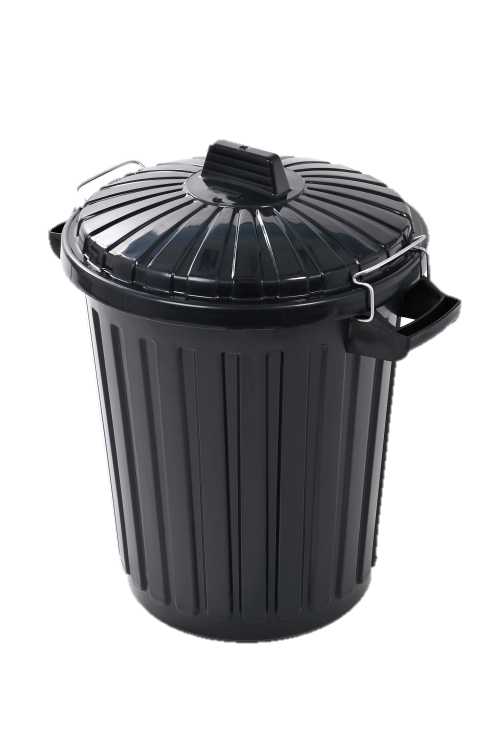 Curver Dustbin With Metal Clip Lid - 70L