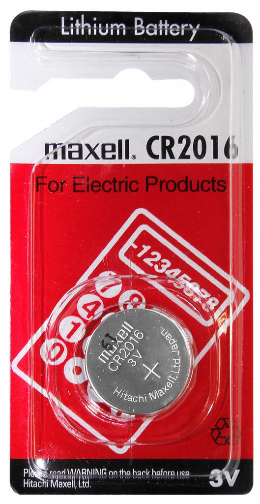 Maxell Lithium CR2016 - 2016