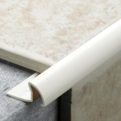 Tile Rite Tile Edging Standard - 2.4m x 7mm Soft Peach