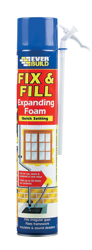 Everbuild Fix & Fill Expanding Foam - 750ML