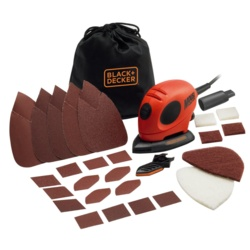 Black & Decker Mouse Sander & Accessories