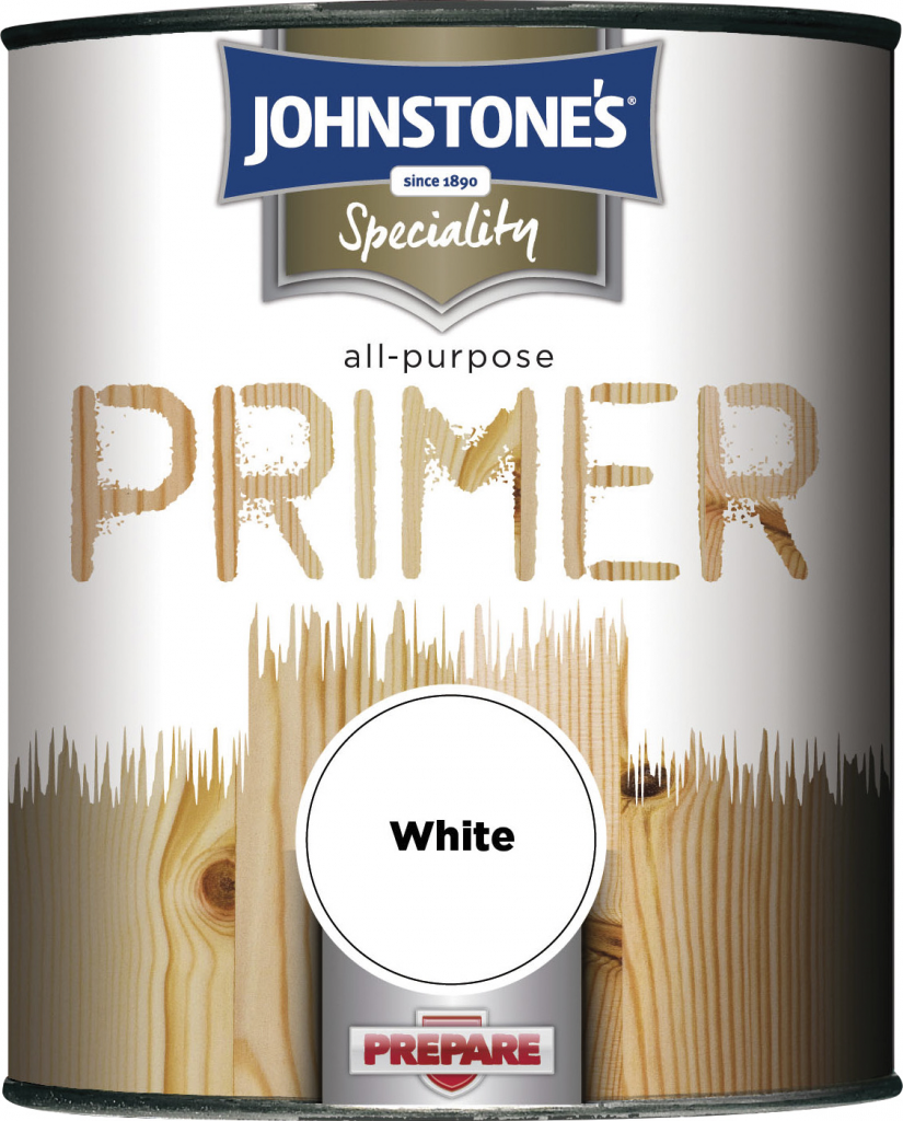 Johnstone's All Purpose Primer - 250ml White