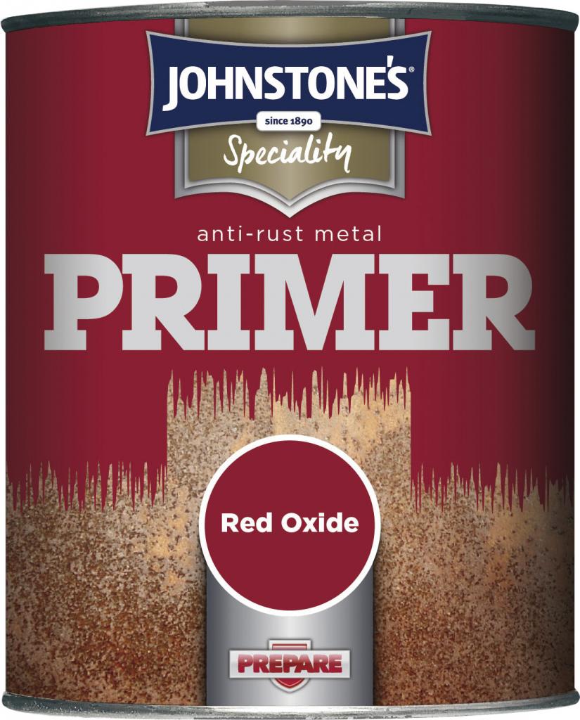 Johnstone's Anti Rust Metal Primer - 750ml Red Oxide
