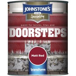 Johnstone 39 s brick tile step paint 750ml stax trade centres - Johnstones exterior masonry paint set ...