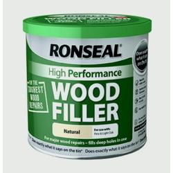 Ronseal High Performance Wood Filler 550g - Natural