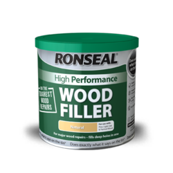 Ronseal High Performance Wood Filler 1kg - Natural