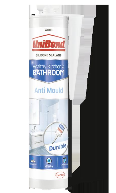 UniBond Anti-Mould Bathroom & Kitchen Sealant - White
