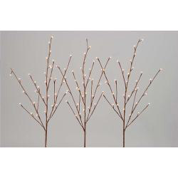 Kaemingk Branch Lights - White Cable & Clear Lights - 96 - 100cm