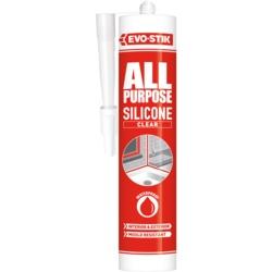 Evo-Stik All Purpose Flexible Silicone Sealant