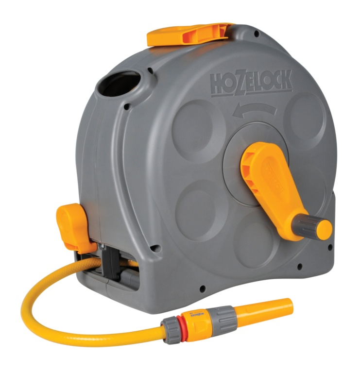 Hozelock 2 in 1 Compact Reel - With 25m Hose