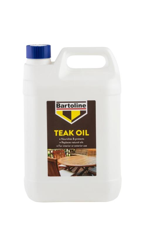 Bartoline Teak Oil - 5L