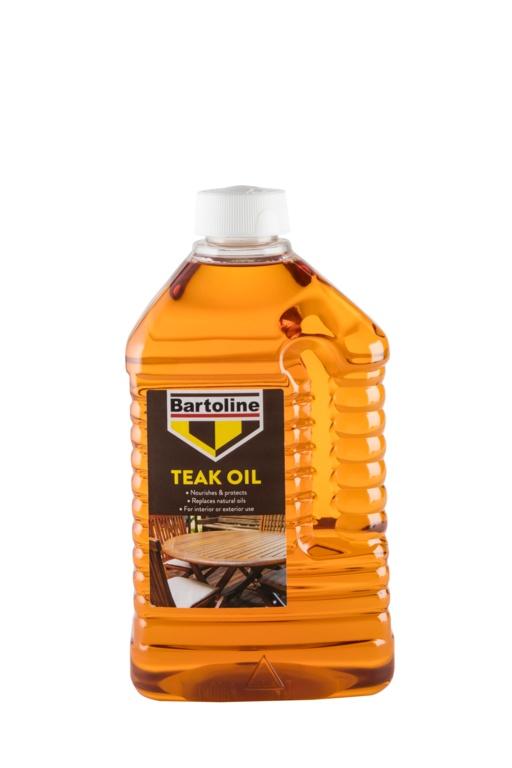 Bartoline Teak Oil - 2L