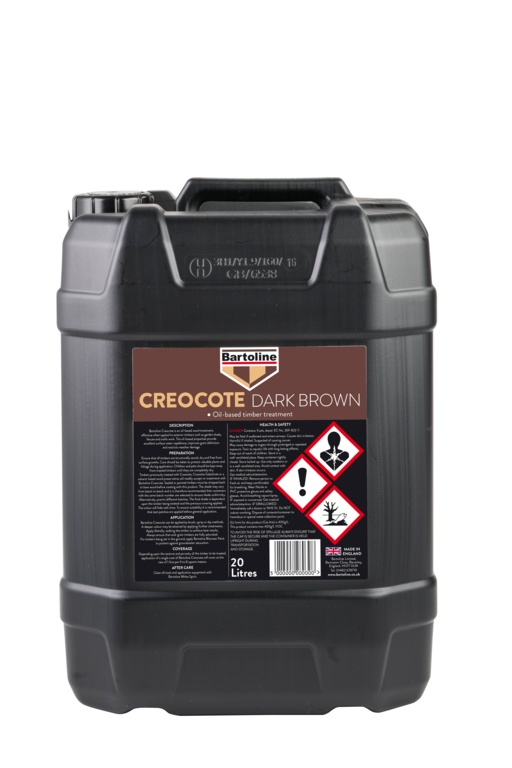 Bartoline Creocote Oil Based Wood Treatment - 20L Dark Brown