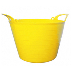Ambassador 14L Flexi Tub - Yellow