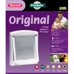 Petsafe Original 2 Way Medium Pet Door - White