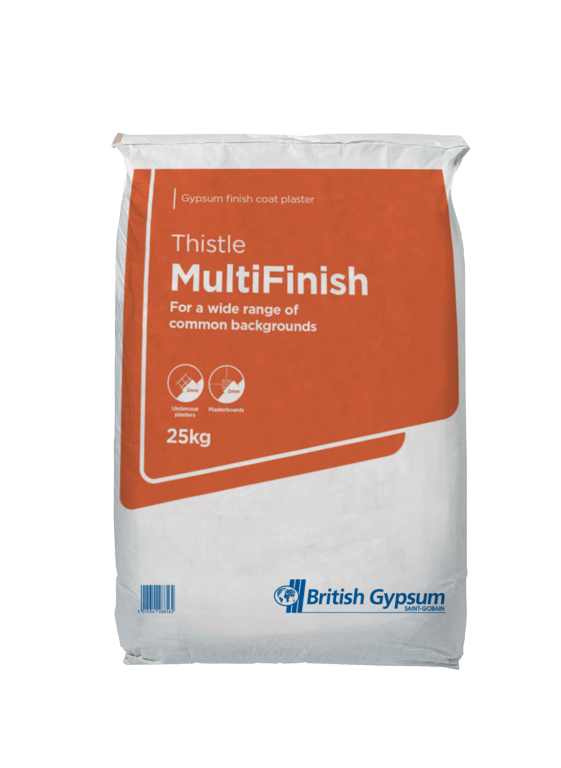 Artex Thistle Multi Finish Plaster - 25kg
