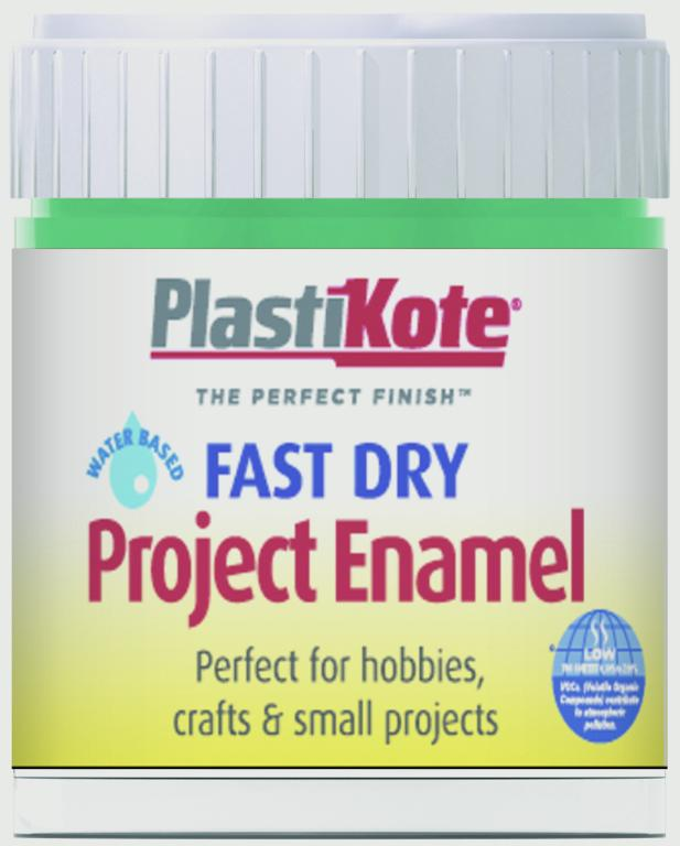 Plasti-kote Fast Dry Enamel Brush On 59ml Bottle - Jade