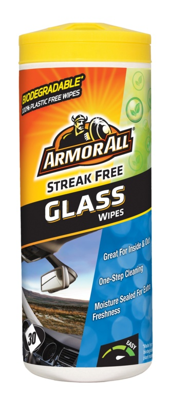 Armor All Glass Wipes - Pack of 25