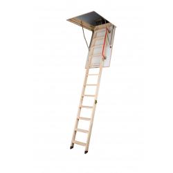 Fakro Wooden Folding Section Loft Ladder