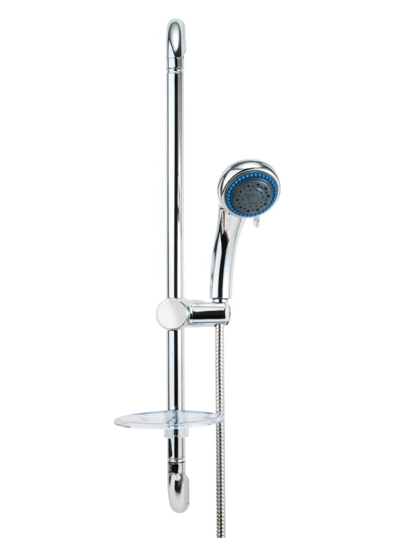 Croydex Shower Set - Three Function - Chrome