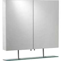 SP Taylor Mirrored Cabinet 600mm - W: 600mm H: 810mm D: 155