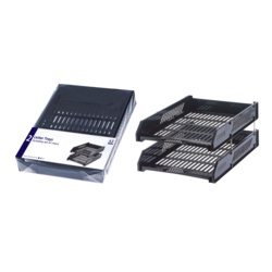 Anker Twin Pack Letter Trays (2 Colours)