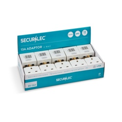 Securlec 13A, 2 Way Multiplug to BS1363/3