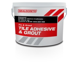Sealocrete Fix & Grout Tile Adhesive and Grout