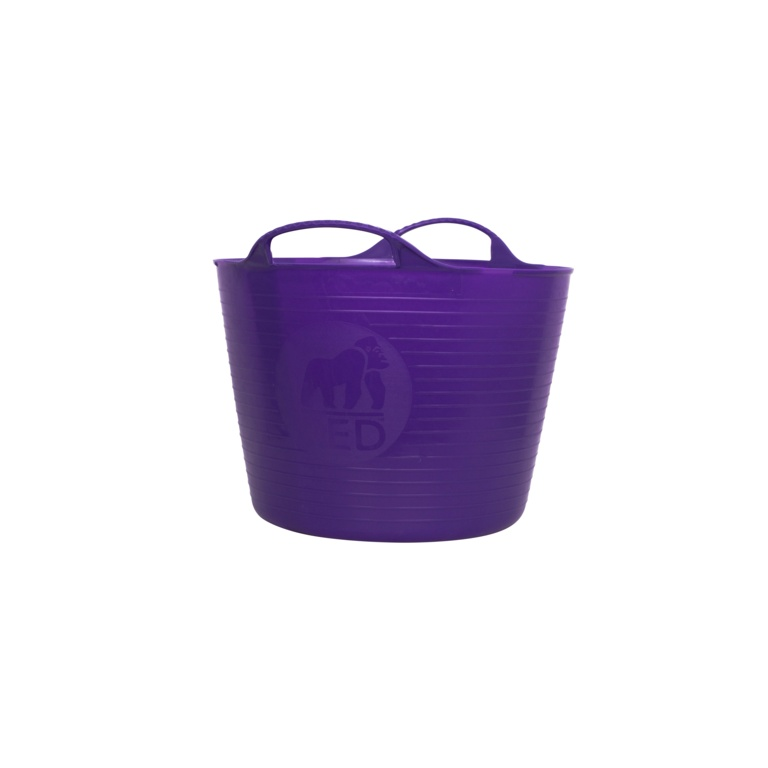 Red Gorilla Flexible Small Tub - Purple