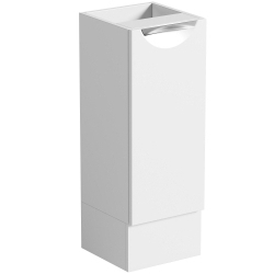 SP Sherwood White Single Door Storage Unit 300mm