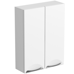 SP Sherwood White Double Door Wall Unit 600mm