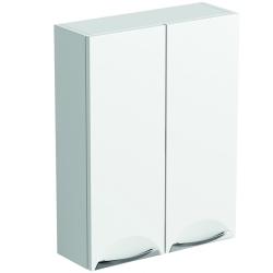 SP Sherwood White Double Door Wall Unit