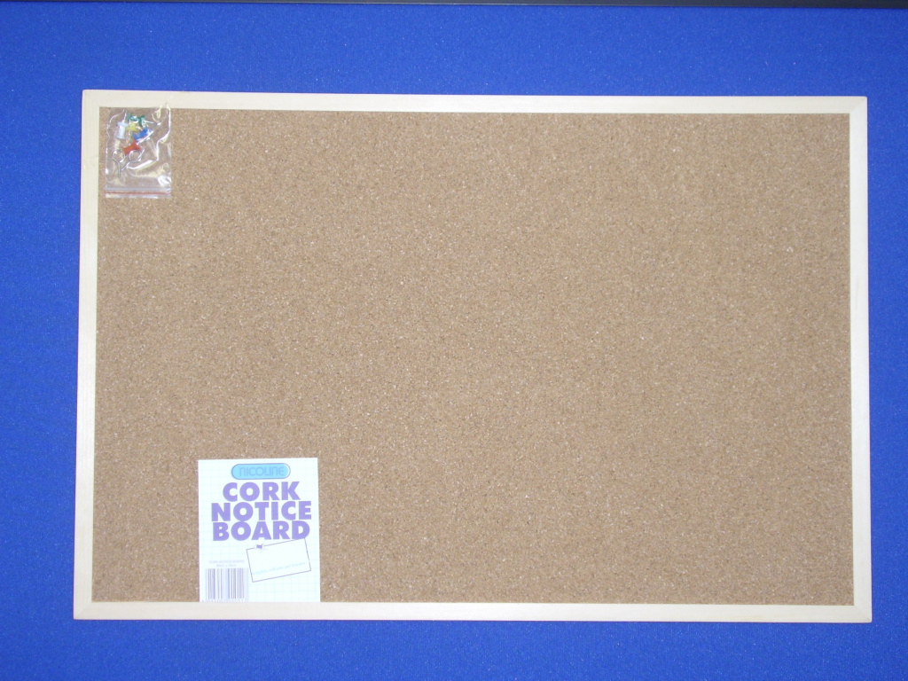 Nicoline Cork Notice Boards - 60cm x 40cm