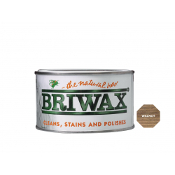 Briwax Natural Wax 400g Walnut