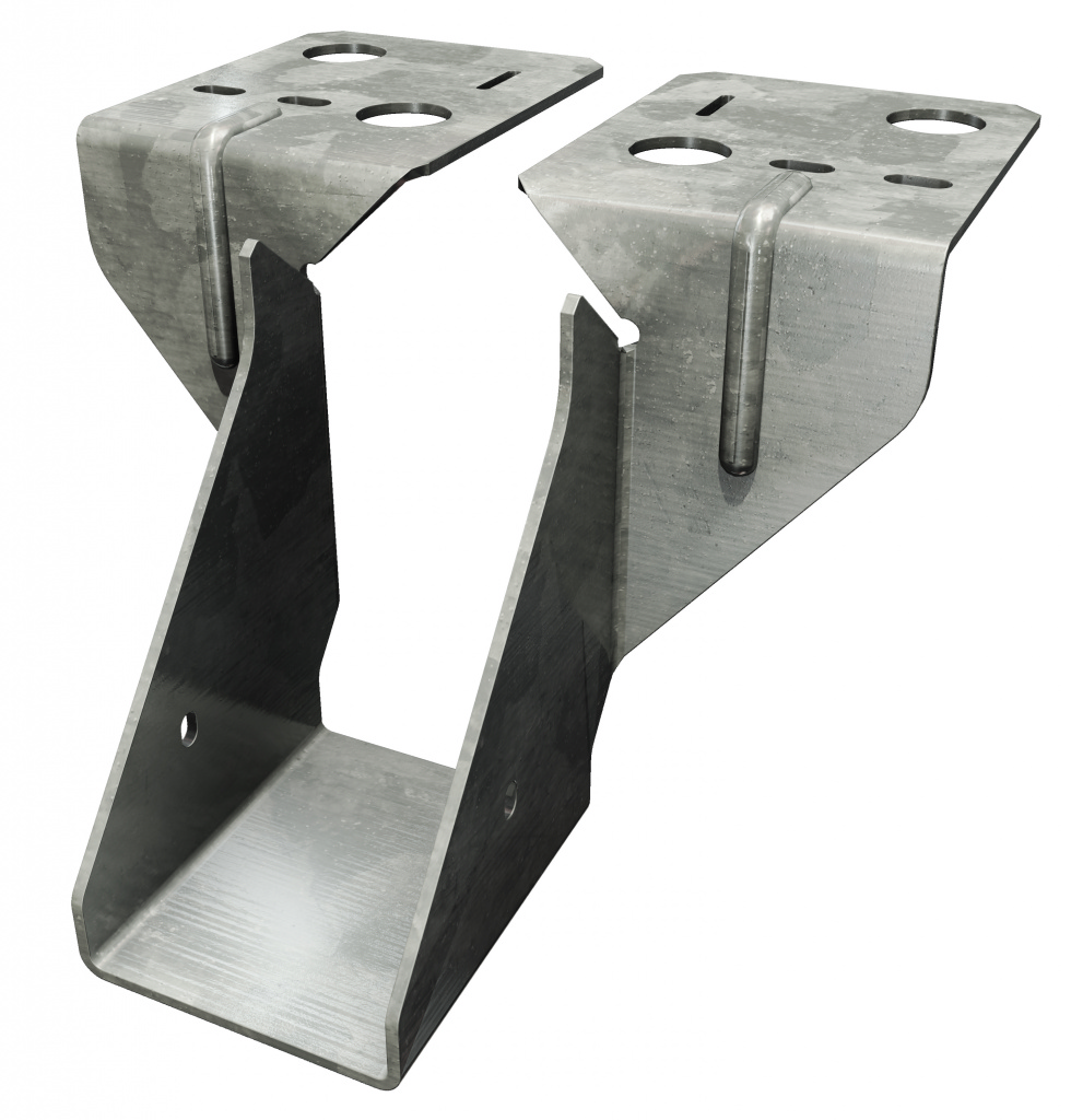 Simpson Strong Tie Joist Hanger Timber To Masonry - 150mm