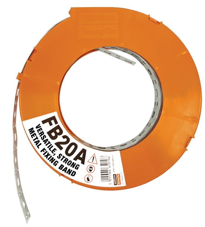 Simpson Strong Tie Fixing Band - 20mm x 10m