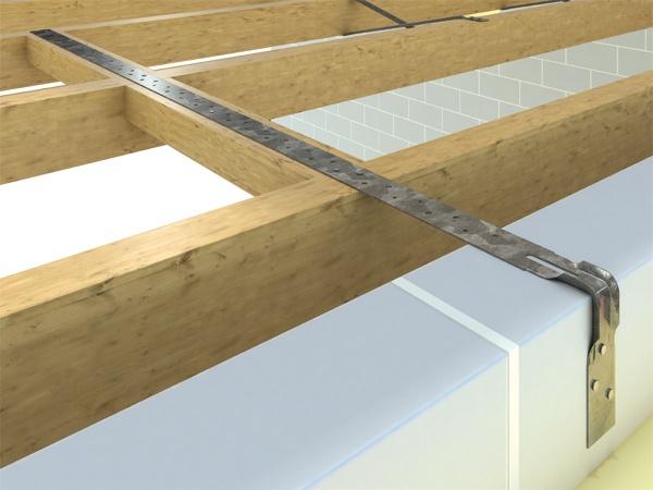 Simpson Strong Tie Heavy Engineered Strap Bent - 1000mm