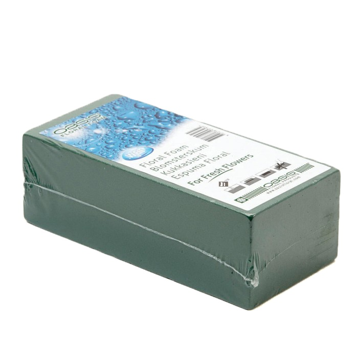 Oasis Ideal Floral Foam Brick Wet - 23 x 11 x 8cm