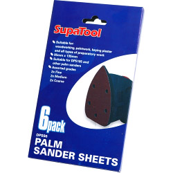 SupaTool Palm Sander Sheets