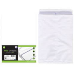 Anker White C4 Gummed Envelopes Pack 15