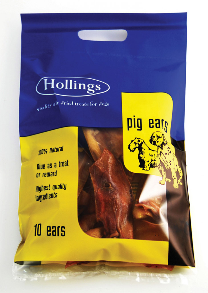 Hollings Pig Ears - 10 Pack