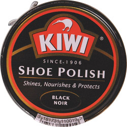 Kiwi Black Shoe Polish - 50ml