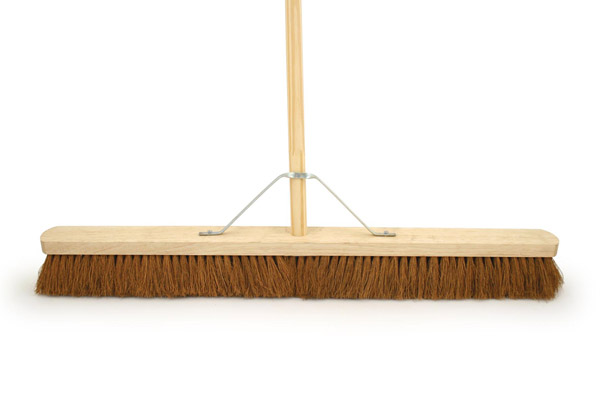 Bentley Natural Platform Brush With Handle - 36""