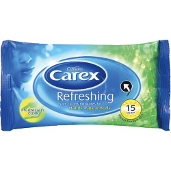 Carex Wipes x15