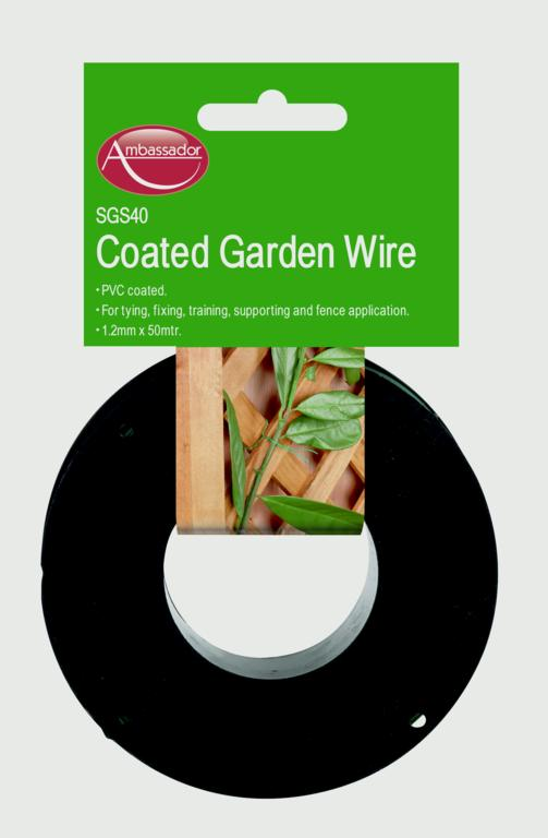 Ambassador PVC Coated Wire - 1.2mm x 100m
