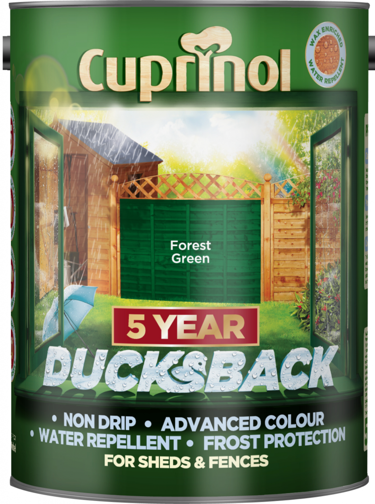 Cuprinol Ducksback 5L - Forest Green