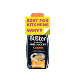 Buster Kitchen Plughole Unblocker 200g